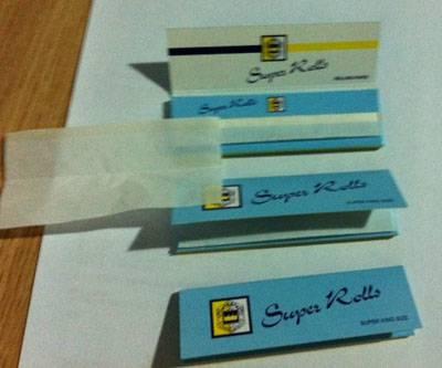 smoking rolling paper