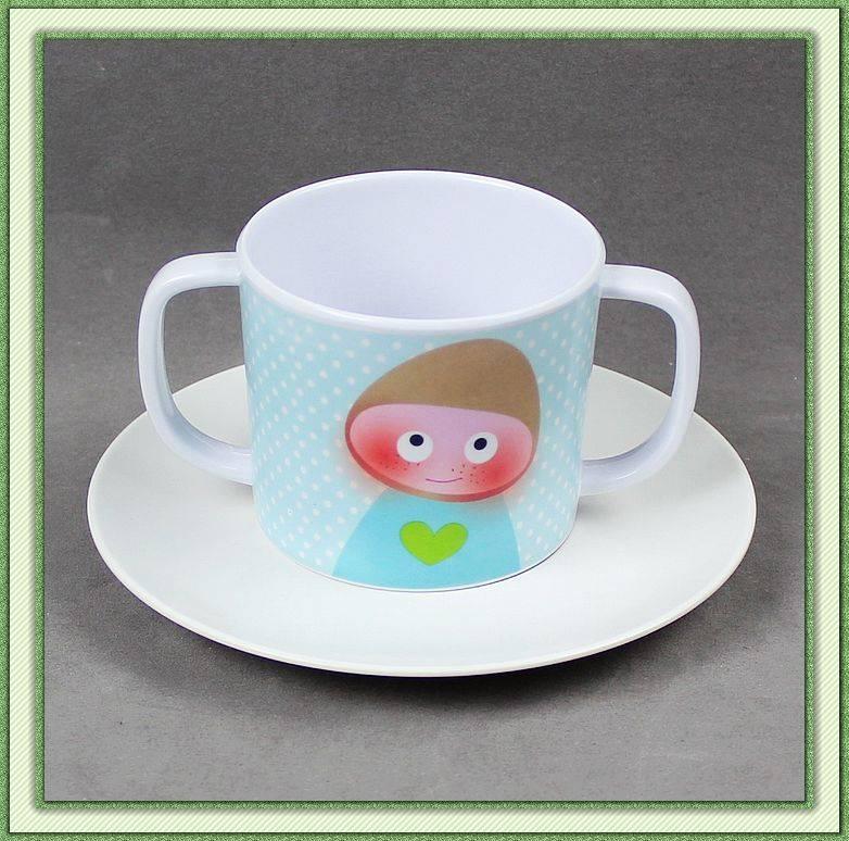 Melamine Coffee Mug and saucer