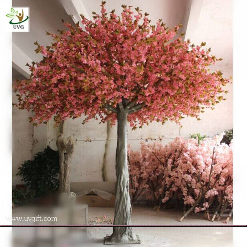 UVG CHR034 12ft tall decorative indoor cherry blossom fake tree for weddings