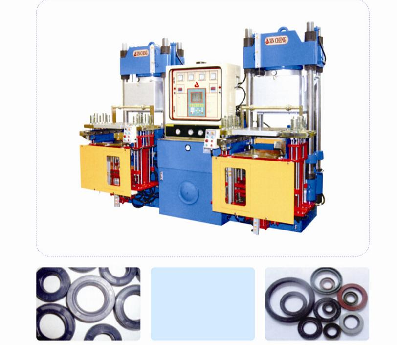 Vacuum Rubber Compression Molding Press For Fluorine Rubber