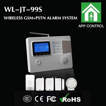 wireless dual network alarm system
