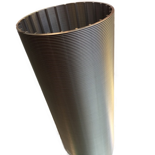 Backwash Cycle Wedge Wire Pipe, Internal Axial Wedge Wire Screen Pipe