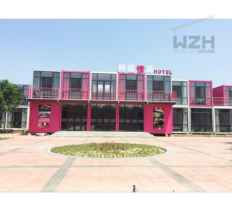 high stability container house