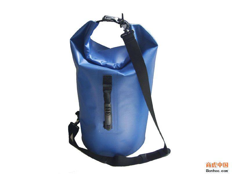 promotion 210D PVC nylon waterproof dry bag for swimming in duffel bags