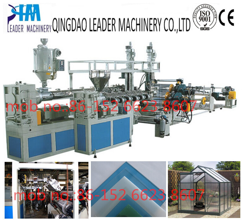 PC PMMA Solid Sheet Extrusion Line