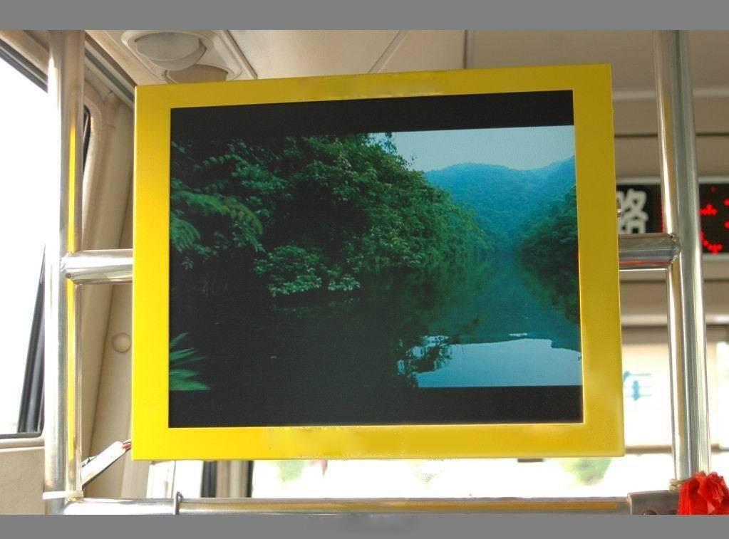 17 inch bus wifi lCD advertising display