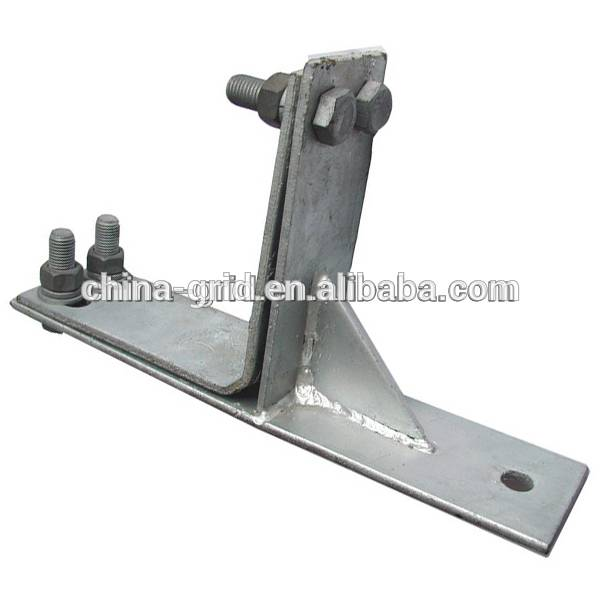 Right-Angle Optical Cable Typed Fastening Clamp for Corner Tower