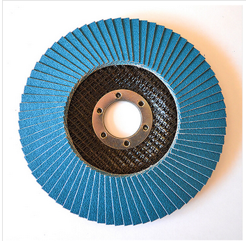 150x22mm zirconia flap disc with fiber backing for polishing and grinding alloy and knives