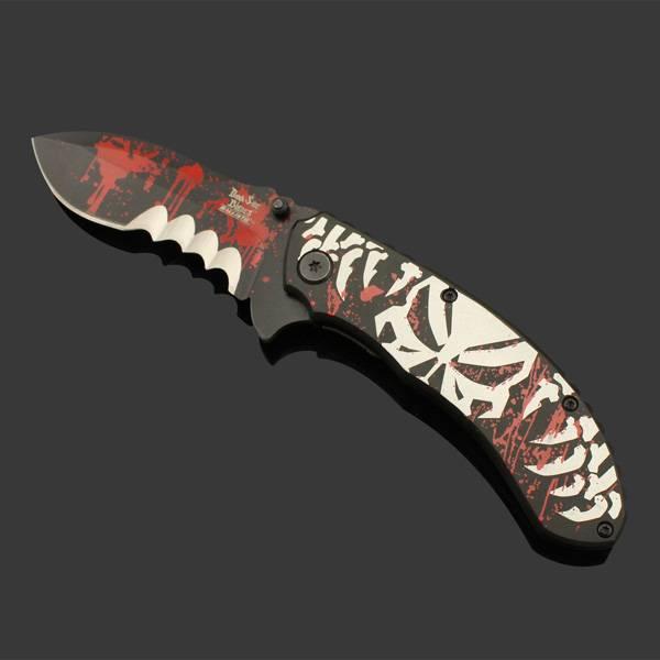 aluminium handle camping pocket knife
