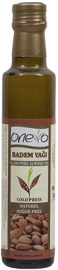 Oneva Brand First Cold Pressed Almond Oil