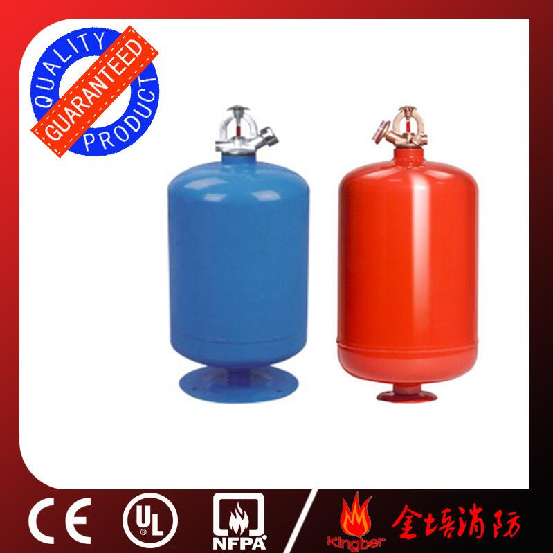 3KG Cold-Roll Steel ABC40 Dry Powder Automatic Fire Extinguisher for Warehouse Using with ISO