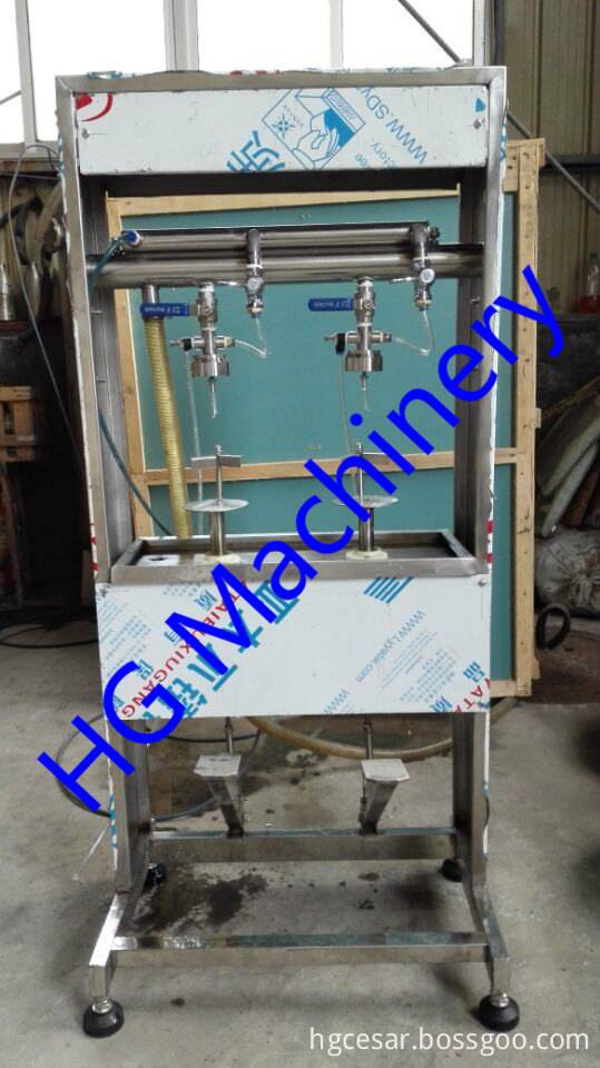 Semi automatic liquid filling system