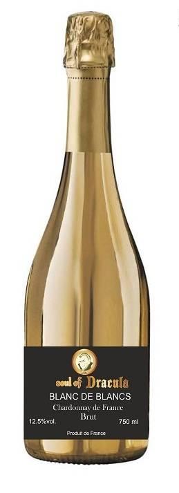 Soul of Dracula Golden Bottle Sparkling wine 75 cl