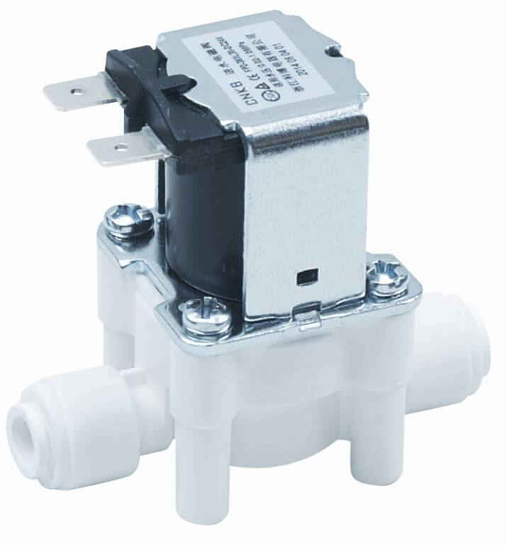 1/4: Quick connect solenoid valve for water purifying machine