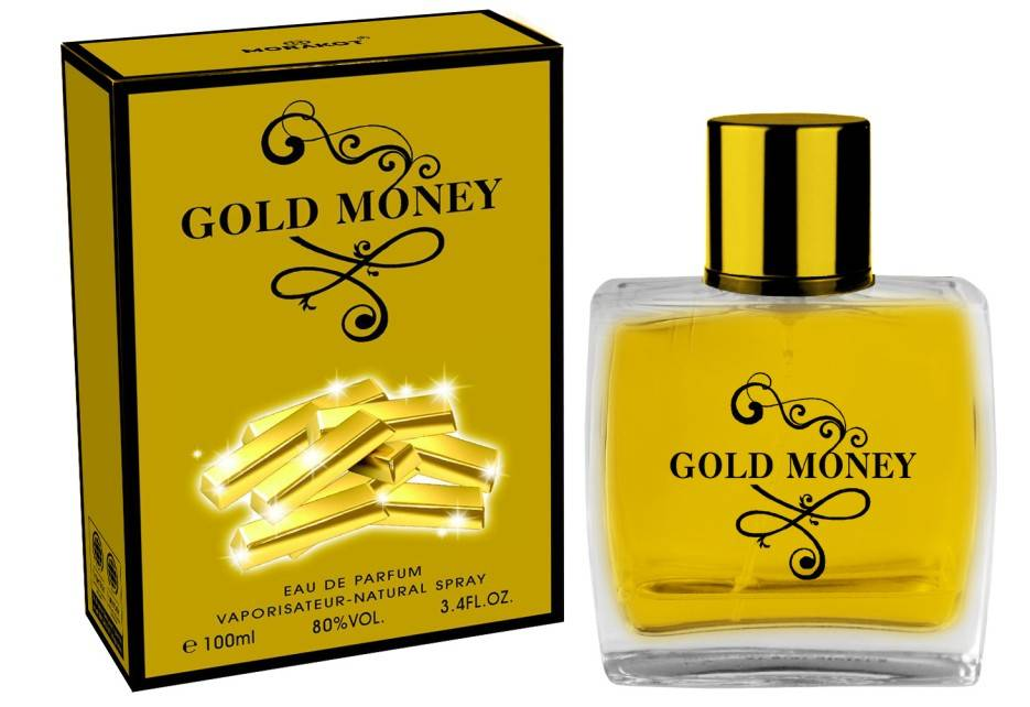 Gold money Wholesale Men Perfume