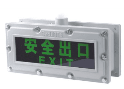 Double sides Explosion proof light