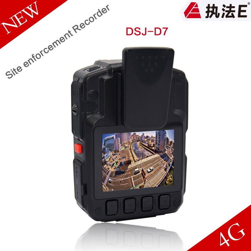 4G Infrared Technology and Dome Camera Style hidden wifi body worn camera