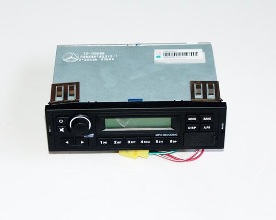 Sinotruk Howo truck parts AZ9525780010 radio cassette player