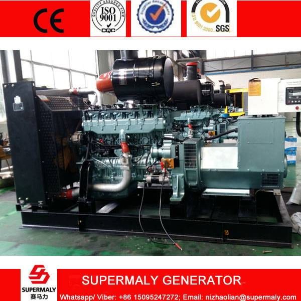 200KW 250KVA Natural Gas Generator set by Sinotruck Steyr Engine with CHP system