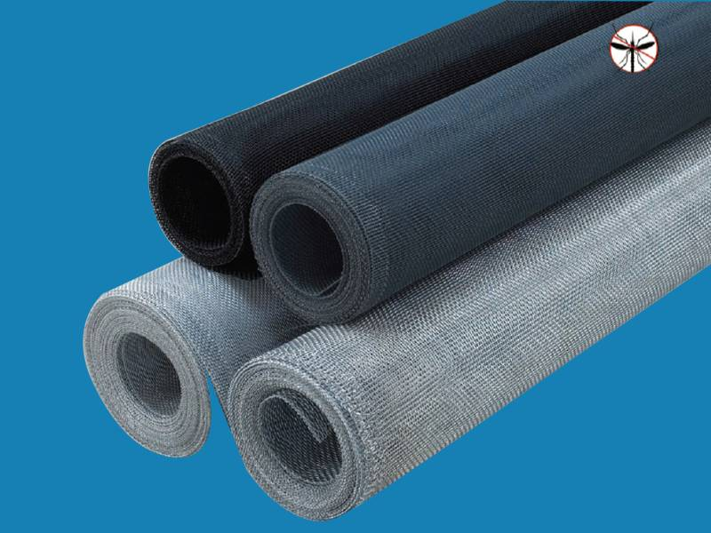 Fiberglass insect screening mesh