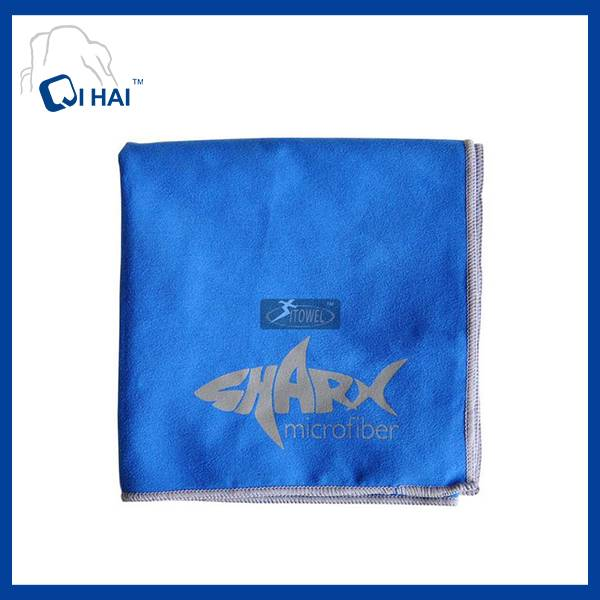 Printed Microfiber Suede Quick Dry Towel (QHE99021)