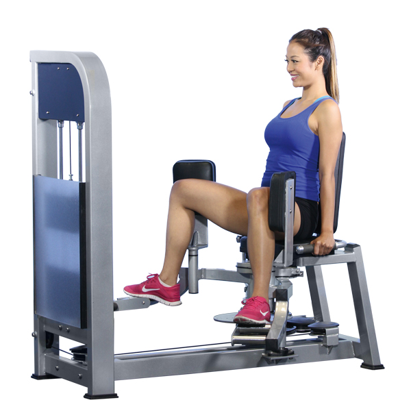 Hip Abductor/Adductor Hammer Strength Machine, Gym Equipment