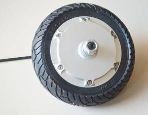 8 inch brushless gearless hub motor