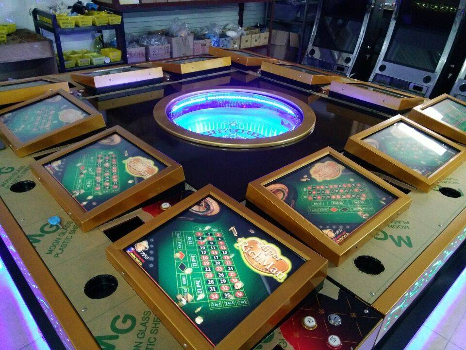 hot in Trinidad and Tobago casino roulette machine with wonderful LCD light