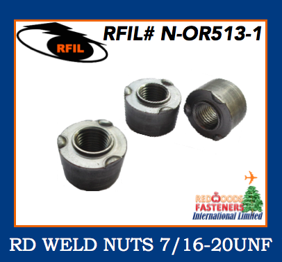 Round weld nut N-OR513-1