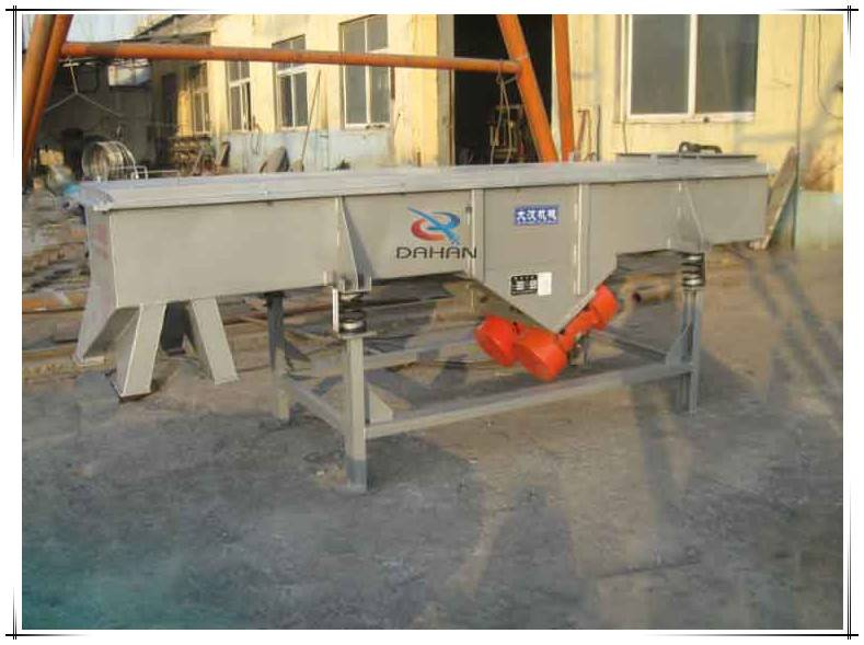 Good operation vibration line screen compost sifter machine for mining industry
