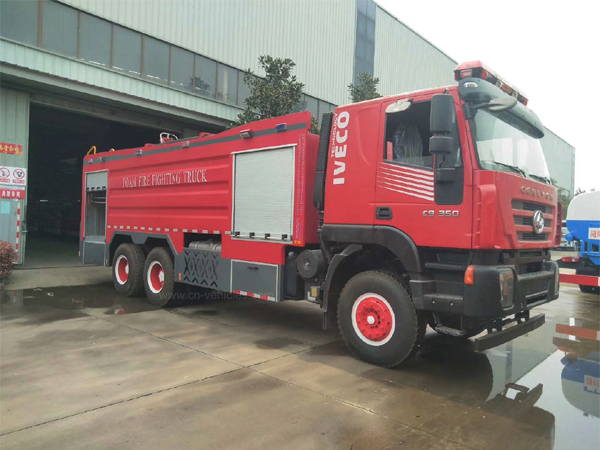 IVECO 12000liters Water Tanker with 4000 liters Foam Tanker 16000 liters Foam Tanker Foam Fire Fight