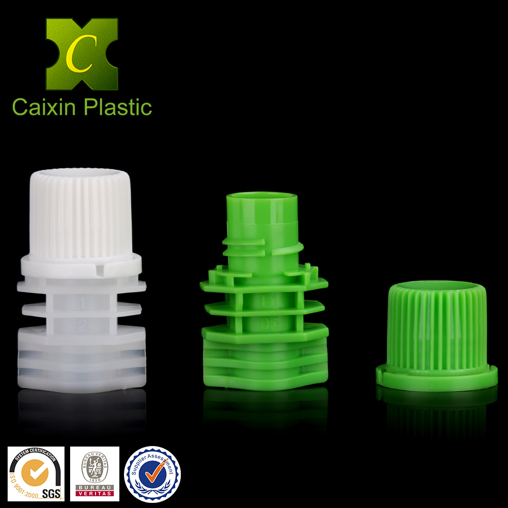 10mm doypack spouts with anti theft cap for jelly bag