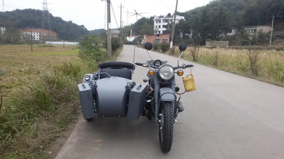CJ750CC Motorcycle with sidecar(grey)