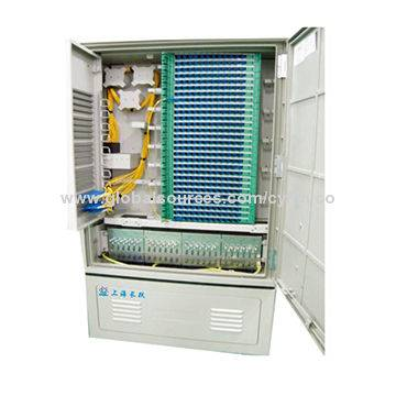 Jumper-free Optical Cross Connection Cabinet (OCC)