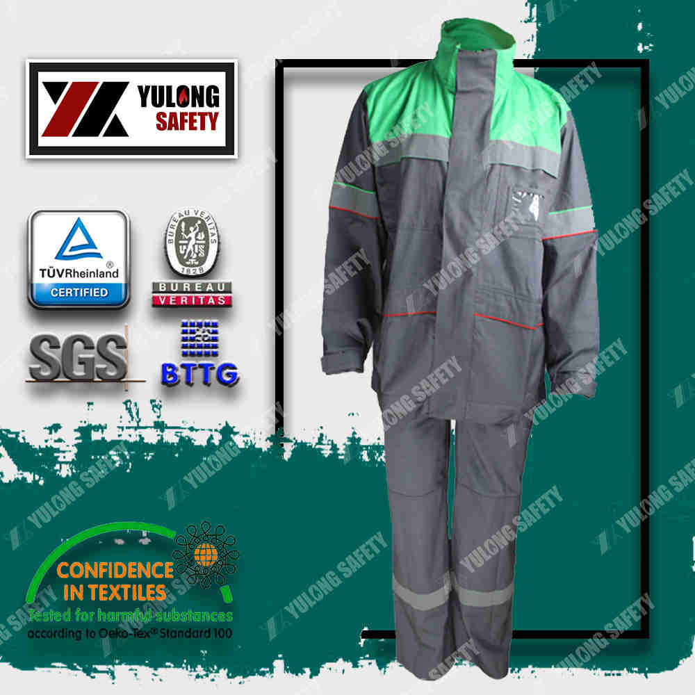 Xinxiang Yulong Textile co.,Ltd FR Arc flash coverall Arc flash workwear