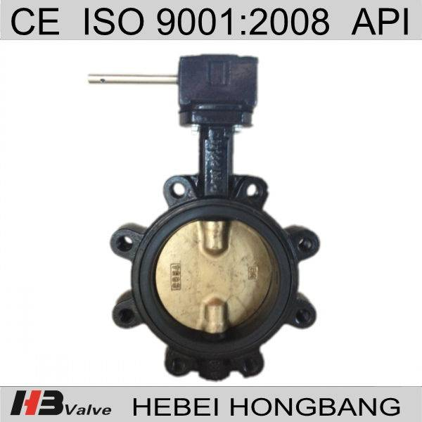 Lugged Worm Gear Butterfly Valve