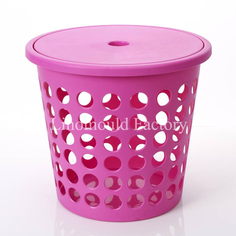 plastic laundry basket mould / customizable mould /plastic injection mould/