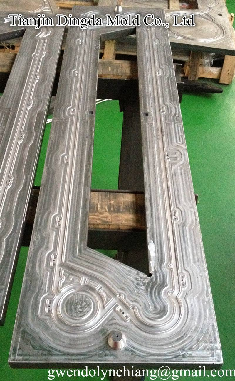 Heat Exchanger mold for rubber gasket NT50X