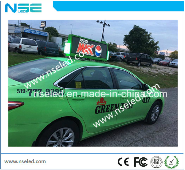 Taxi Top LED Display Screen