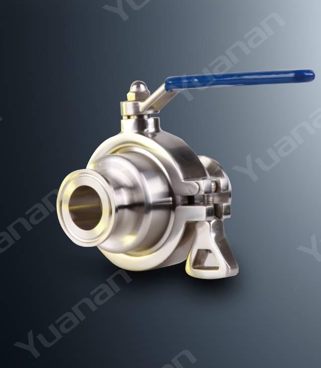 Sanitary no dead space ball valve