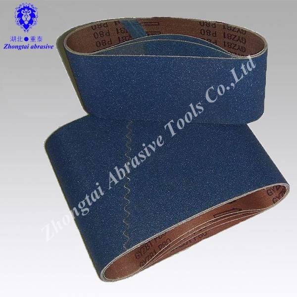 Manufacture Abrasive belt