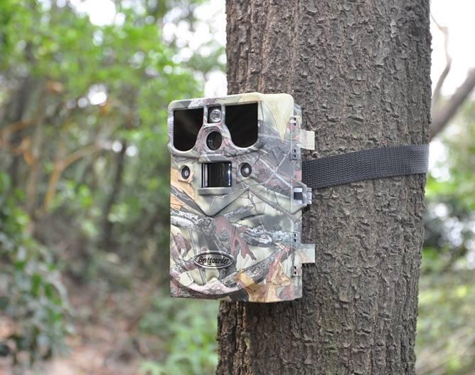 10mp HD 720P Invisible Black IR wildlife hunting camera trap