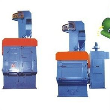 Tumble Rubber Belt Sand Blasting Machine/Rubber Tracked Type Rust Remove Shot Blasting Machine