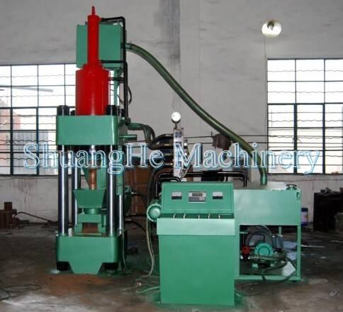 Metal Briquetting  Press  Machinery Y83-400