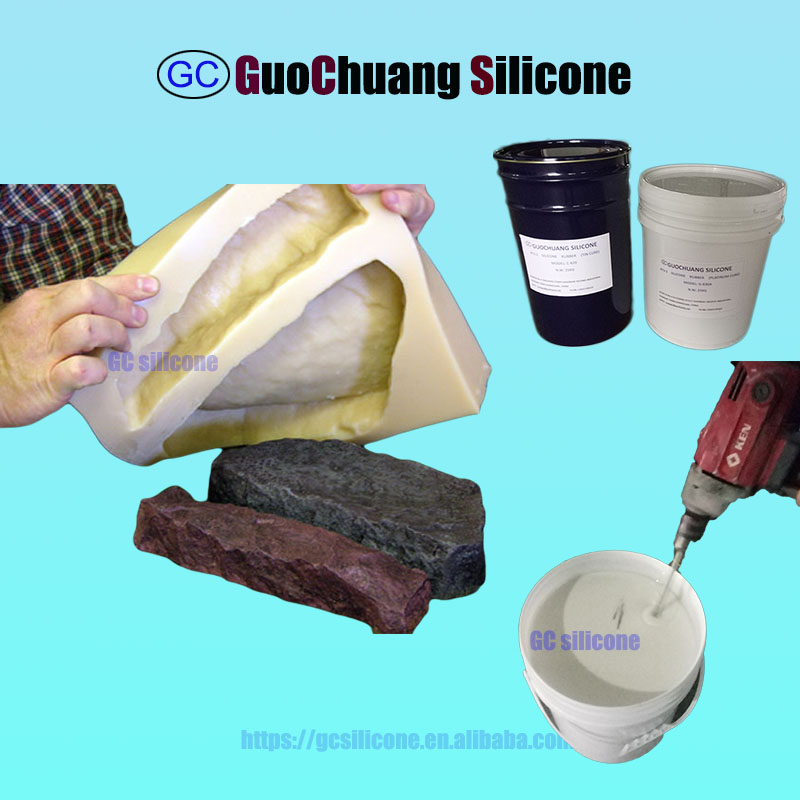 prices liquid silicone rubber for artificial stone panel mold making