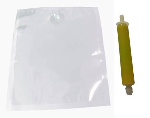 Soap bag for dispenser