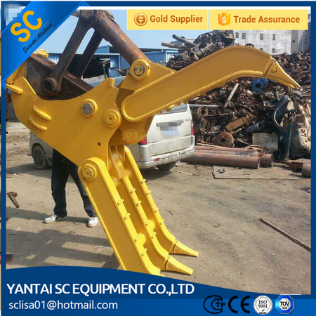 Hydraulic log grapple/timber grapple/wood grab for 4-50ton excavator