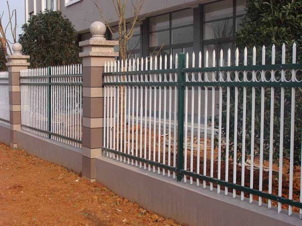 Beautiful and strong steel wall fence for villas