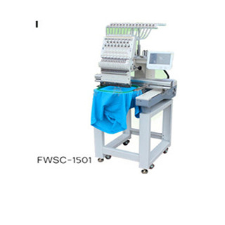 1501 cap/t-shirt/tubualr embroidery machine