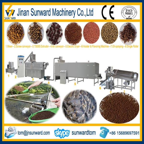 Floating Fish Feed Manufacture Line Machinery